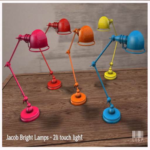 lisp Jacob Lamps Brights