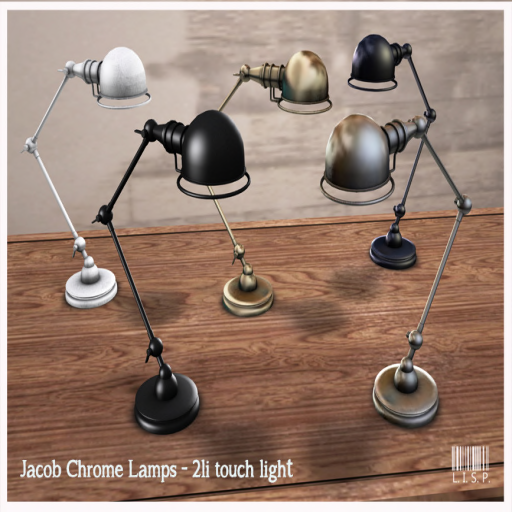 Lisp Jacob Lamps Metals