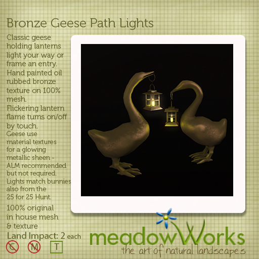 meadowWorks MAY 25 for 25 bronze-geese-ad-
