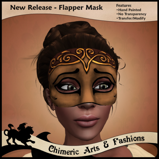 S - Flapper -Brown & Copper