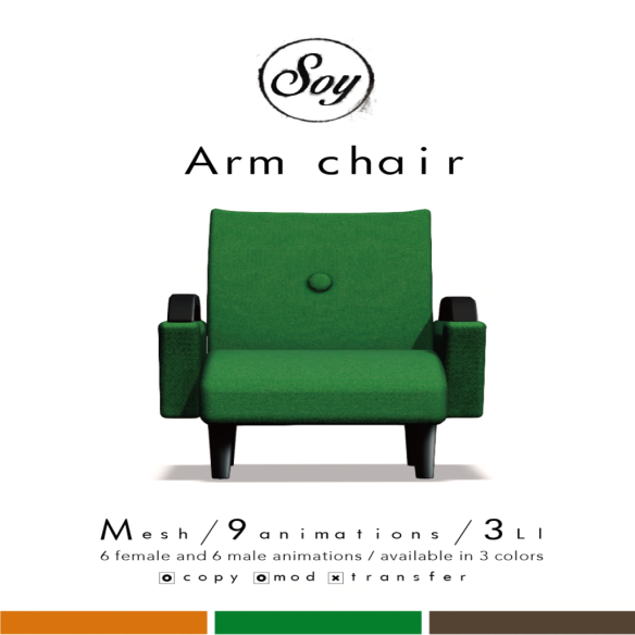 Soy. armchair image