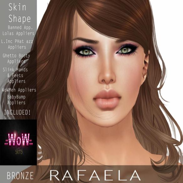 .__WoW Skins__. Rafaela Bronze