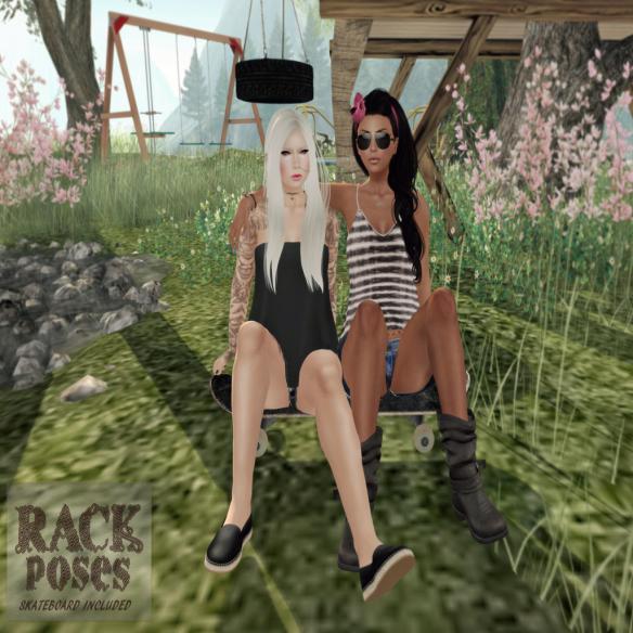 RACK Poses - Sk8r Gurls